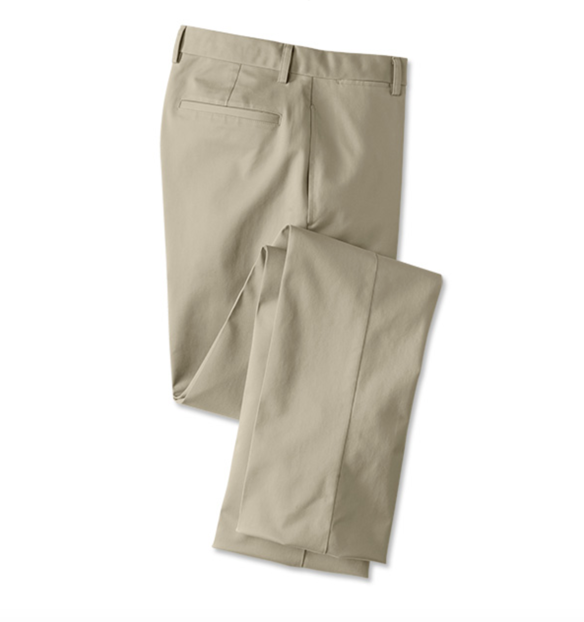 TRIM FIT WRINKLE-FREE COTTON STRETCH CHINOS