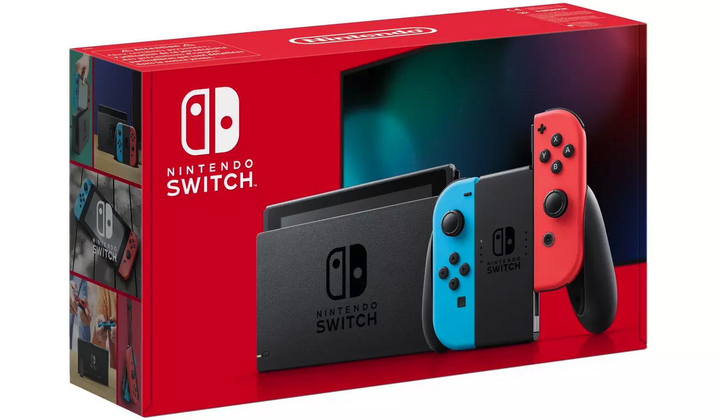 Nintendo Switch Console – Neon with improved battery